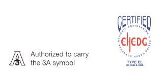 3a symbol certyfikat EHEDG